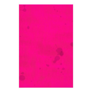 Pink with Water Stains Stationery