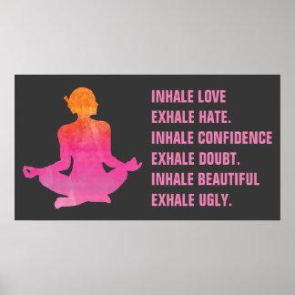 yoga poses posters  zazzle