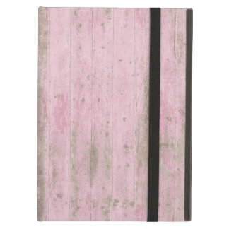 Pink Wood Case For iPad Air
