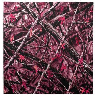 Pink Woodland Camo Cloth Napkin