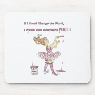 PINK World gifts and accessories Mouse Pad