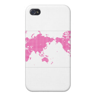 PINK WORLD iPhone 4/4S CASE