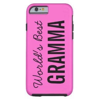 Pink World's Best Gramma Custom iPhone 6 Case