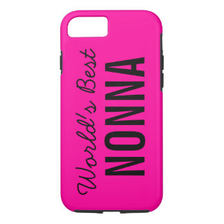Pink World's Best Nonna Custom iPhone 7 iPhone 7 Case