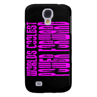 Pink Worlds Coolest Power Forward Galaxy S4 Cover