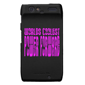 Pink Worlds Coolest Power Forward Droid RAZR Covers