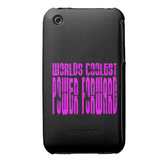 Pink Worlds Coolest Power Forward iPhone 3 Covers