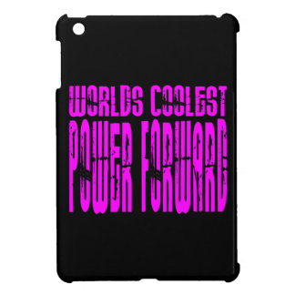 Pink Worlds Coolest Power Forward iPad Mini Cover