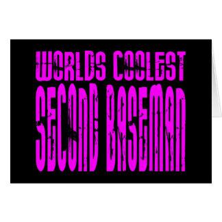 Pink Worlds Coolest Second Baseman Card