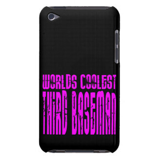 Pink Worlds Coolest Third Baseman iPod Touch Covers