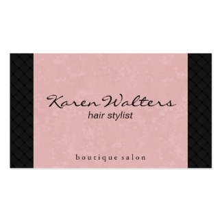 Pink & Woven Business Card