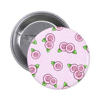Pink Wrap Around Roses Pin