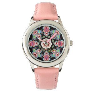 Pink Wristwatch