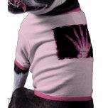 Pink X-ray Skeleton Hand Dog Tee Shirt