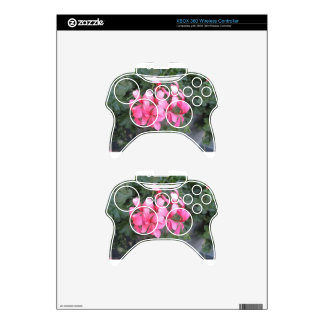 Pink Xbox 360 Controller Skins
