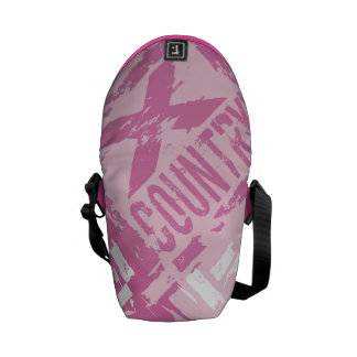 PINK XC Cross Country Runner Courier Bags