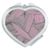 Pink Yarn Travel Mirrors