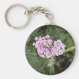 Pink Yarrow 1 Key Chain