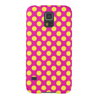 Pink & Yellow Bubble Gum Galaxy S5 Case
