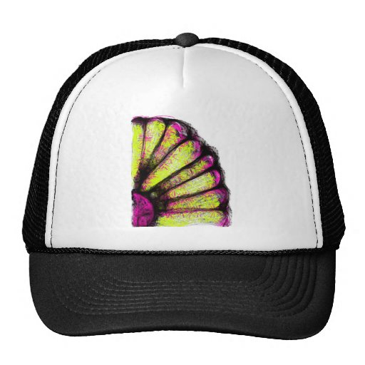 Pink & Yellow Gerber Daisy Collection Hat