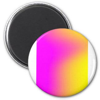 Pink Yellow Gradient Magnet