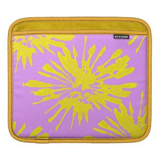 Pink Yellow iPad pad Horizontal Sleeve iPad Sleeve