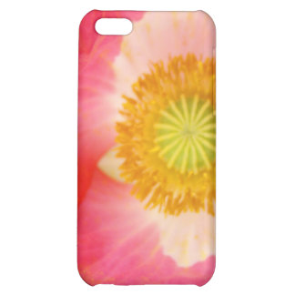 Pink Yellow Oriental Poppy Flower iPhone cases iPhone 5C Cover