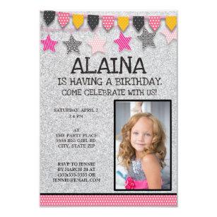 your little girl invitations zazzle