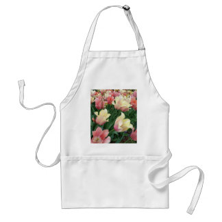 Pink & Yellow Tulips Aprons