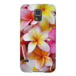 Pink Yellow  White Mixed Plumeria Flower Galaxy S5 Case