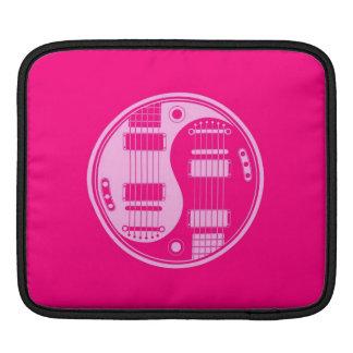 Pink Yin Yang Guitars Sleeve For iPads
