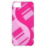 Pink Yin Yang Guitars iPhone 5C Case