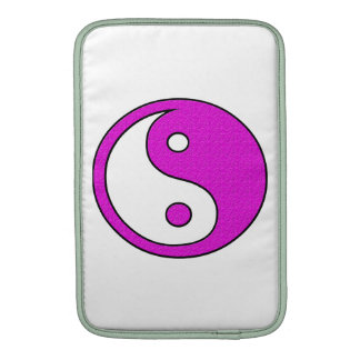 Pink YinYang Harmony MacBook Air Sleeve