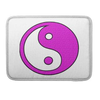 Pink YinYang Harmony Sleeves For MacBook Pro