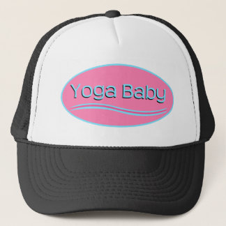 Pink Yoga Trucker Hat