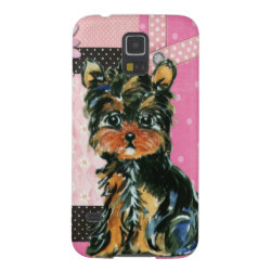 Case-Mate Barely There Samsung Galaxy S5 Case with Yorkshire Terrier Phone Cases design