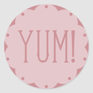 Pink Yum DIY Birthday Cupcake Toppers Stickers