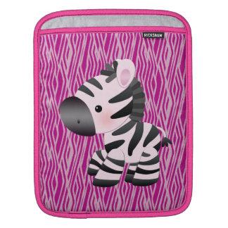 Pink Zebra & Animal Print iPad & Laptop Sleeve