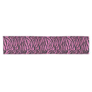 Pink Zebra Animal Print Table Runner