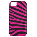 Pink Zebra  Barely There™ iPhone 5 Case