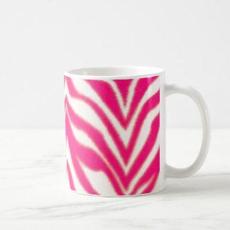 Pink Zebra Coffee Mug