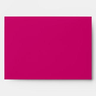 Pink Zebra Envelopes