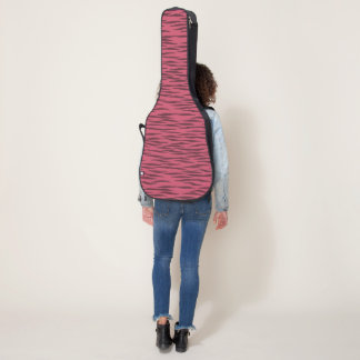 Pink  Zebra guitar cases