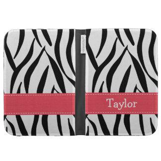 Pink Zebra Kindle 3 Folio Case Kindle Cases