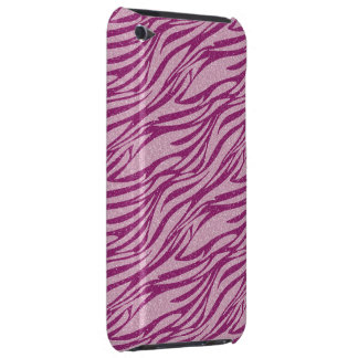 Pink Zebra Pattern iPod Touch Case