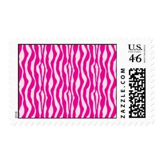 Pink Zebra stamp