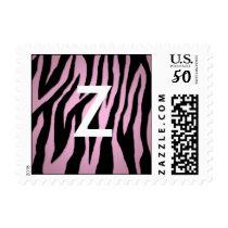 Pink Zebra Postage