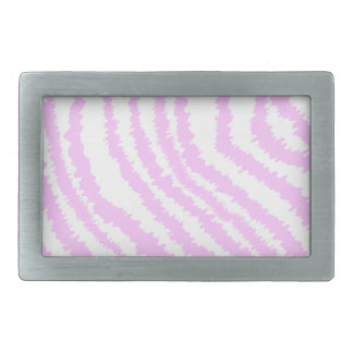 Pink Zebra Print, Animal Pattern. Belt Buckle