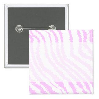 Pink Zebra Print, Animal Pattern. Pinback Button