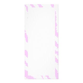 Pink Zebra Print, Animal Pattern. Rack Cards